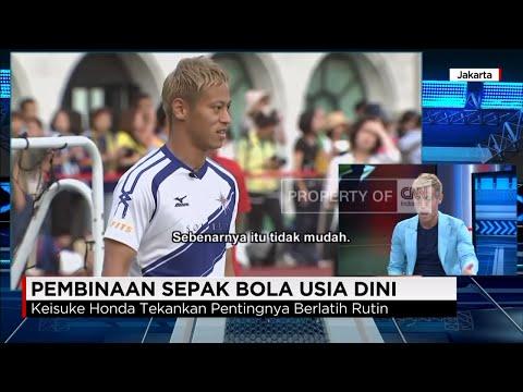 Eksklusif - Pesan Keisuke Honda-AC Milan- untuk Indonesia