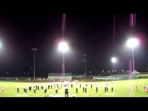 New Smyrna Beach High School Marching Band Half Time Septp. 6th 2013