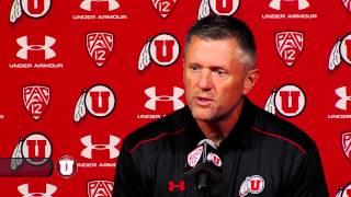 Utah football head coach Kyle Whittingham press conference 9/29/14