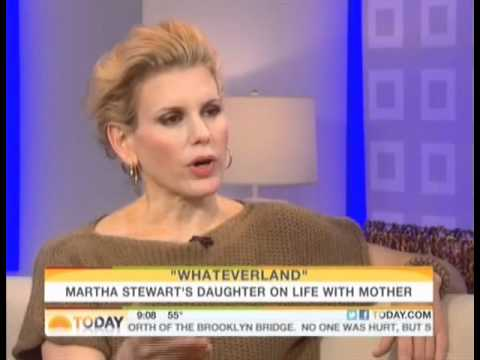 jenny hutt on TODAY show with alexis stewart 10.24.11 talking WHATEVERLAND book.