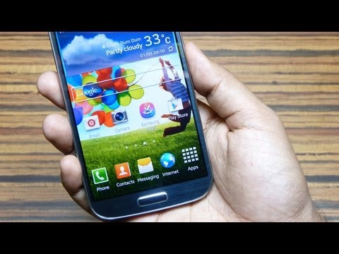 Samsung GALAXY S4 Unboxing [Exynos 5 OCTA core], out of the box BENCHMARKS, Storage, RAM & Specs