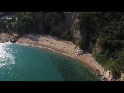 Costra Brava, Spain by Drone video 2015 (Spanyolország utazás videó)