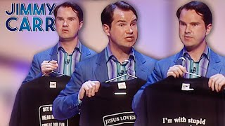 Jimmy's Comedy T-Shirts | Jimmy Carr Live