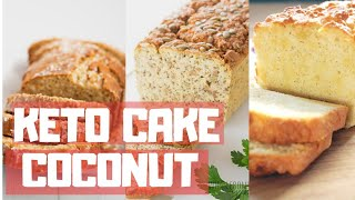 KETO COCONUT FLOUR CAKE RECIPE | KETO CAKE! COCONUT FLOUR| Coconut Cake- juicy low carb coconut cake