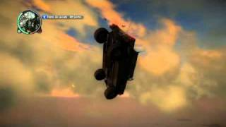 Just Cause 2 voiture volante + Atterisage forcé
