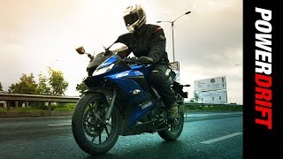 Yamaha R15 V3: Still everybody's Sports bike? : Quick Review : PowerDrift