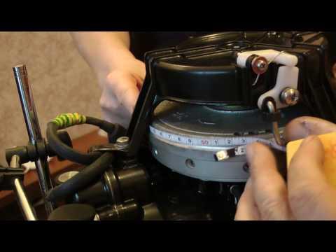 угол опережения зажигания лодочного мотора ямаха