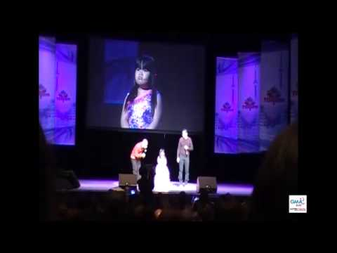 Eat Bulaga in Toronto - Clip with Ryzza Mae with Jose & Wally