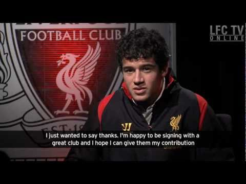 Coutinho: I always knew about LFC