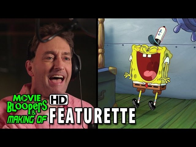 The Spongebob Movie: Sponge Out Of Water Blu-ray / DVD (2015) Featurette - Tom