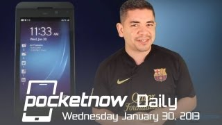 BlackBerry 10 Announcements, Nokia's MWC Event, Surface Pro Issues & More - Pocketnow Daily
