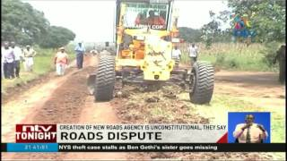 Governors say creation of new roads agency is unconstitutional
