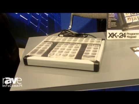 InfoComm 2014: PI Engineering Showcases its XK-24 Programmable Keypad
