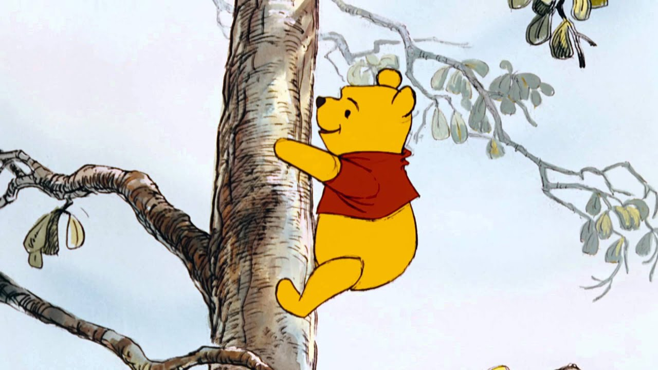 the mini adventures of winnie the pooh climb a tree youtube