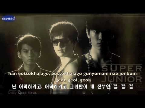 [Lyrics] Super Junior- Bonamana (rom/hangul)