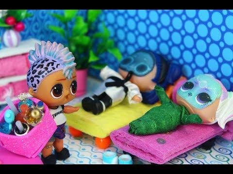 КУКЛЫ ЛОЛ и САЛОН КРАСОТЫ. Часть 2  Мультик про куклы LOL SURPRISE. MC Family.