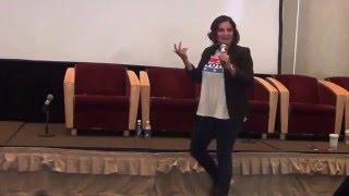 Cristela Alonzo Talks About 'Hispandering' at DePaul