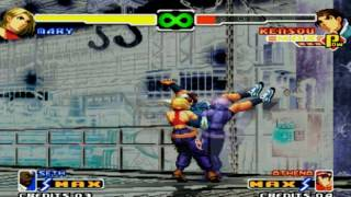 The king of fighters 2000 combos todos os personagens