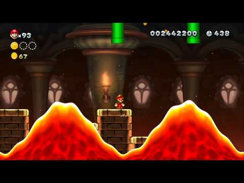 New Super Mario Bros. U 100% Walkthrough Part 12 - Soda Jungle (5-6, 5-7, 5-C) All Star Coins