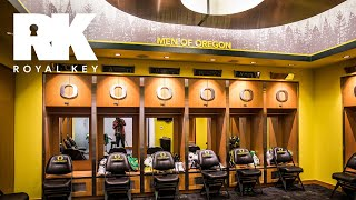 We Toured the Oregon Ducks' Sneaker-Filled Basketball Facility | The Royal Key