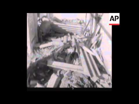 SYND 13 12 71 INDIAN AIR RAIDS OVER WEST PAKISTAN