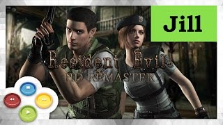 Resident Evil HD Remaster Pelicula Completa Full Movie (Jill)