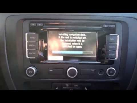 How to Update your VW GPS Maps