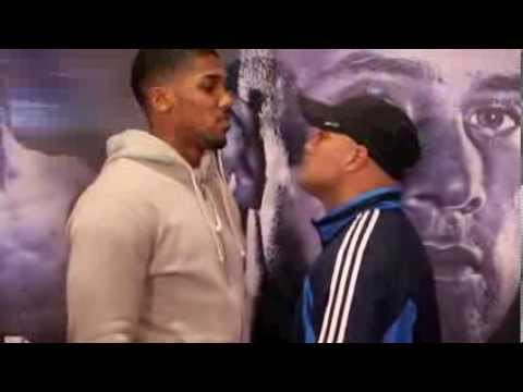 ANTHONY JOSHUA MBE v HECTOR AVILA - HEAD TO HEAD @ FINAL PRESS CONFERENCE - MAN OF STEEL