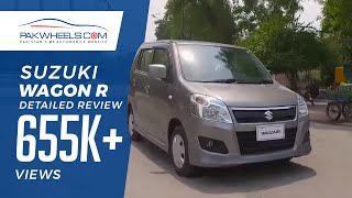 Suzuki Wagon R Detailed Review: Price, Specs & Features | PakWheels