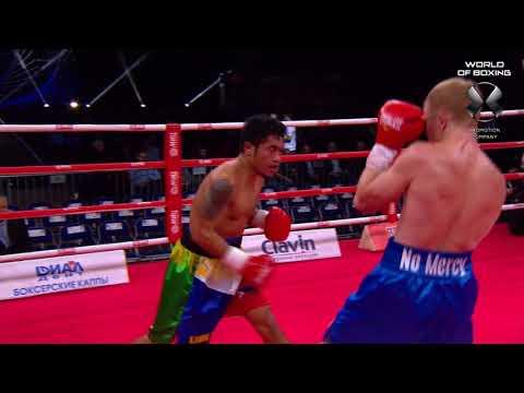 Evgeny Smirnov — Jhon Gemino Highlights | Смирнов – Гемино Хайлайты | Мир бокса