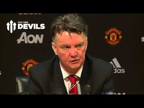 Louis Van Gaal Presser! | Manchester United 3-0 Stoke City