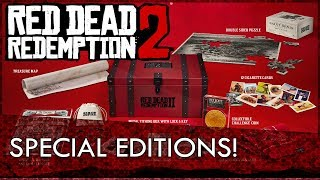 Red Dead Redemption 2: Pre Order and Special Editions Revealed! [RDR2 News]