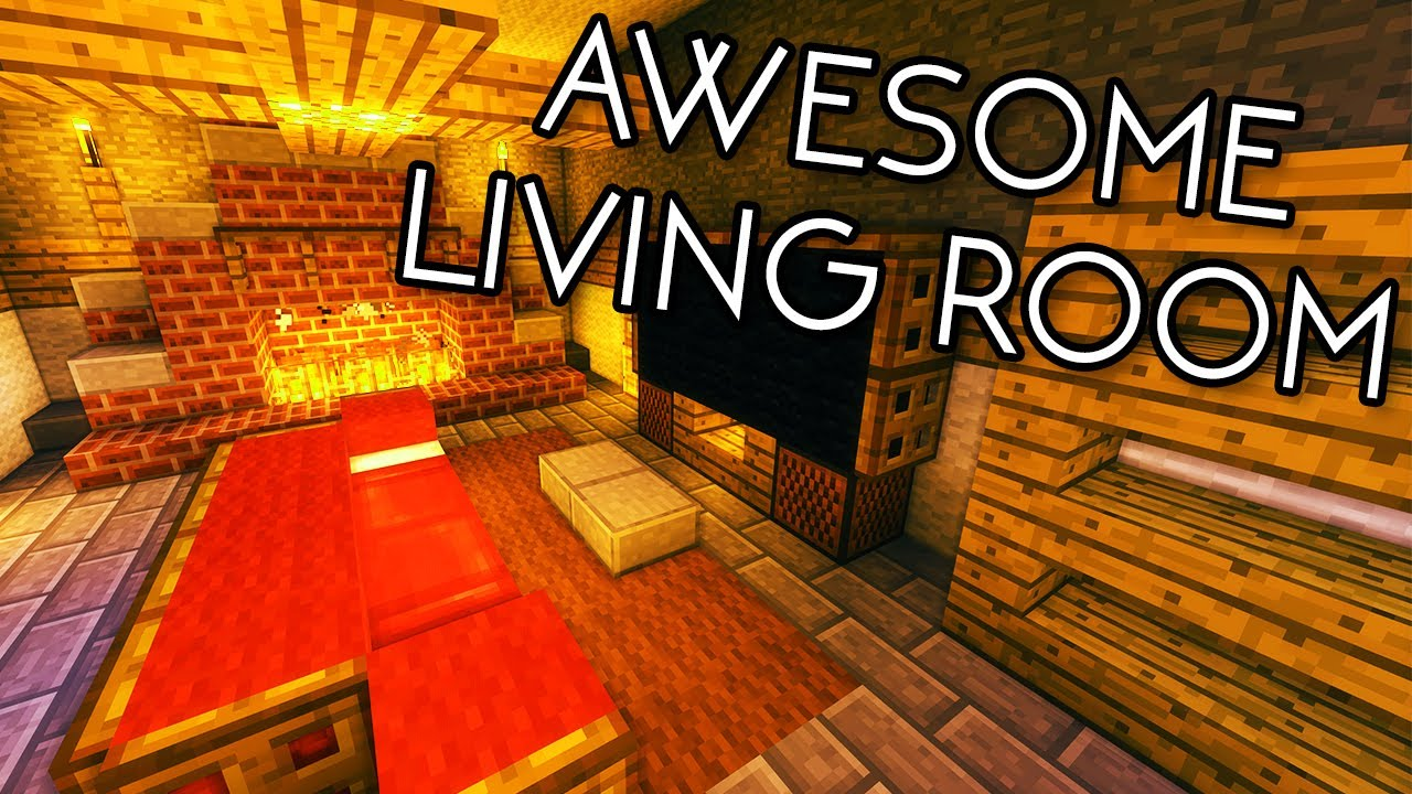 Minecraft tutorials minecraft tutorial 15 how to for Build a living room