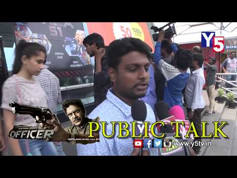 Officer movie Public Talk | Review and Rating | RGV | Nagarjuna | Y5 tv |