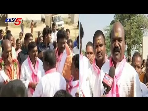 TRS Candidate Gudem Mahipal Reddy Face To Face | Election Campaign In Patancheru | TV5