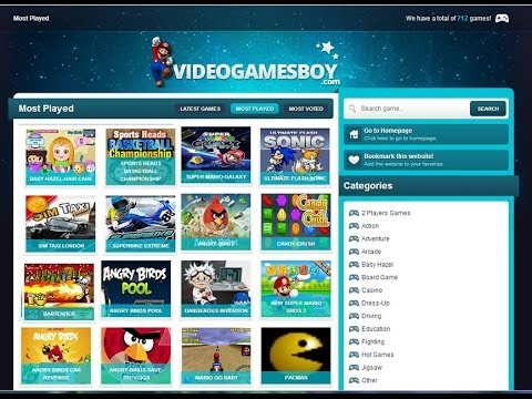 Free Online Video Games, Play Now Fun Flash Game at VideogamesBoy.com