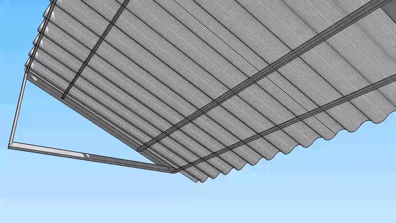 Corrugated Metal Awning Youtube