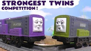 Thomas & Friends Strongest Twins Train Competition