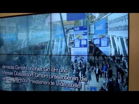 ISE 2015: Dimedis Presents Their Kompas Digital Signage System