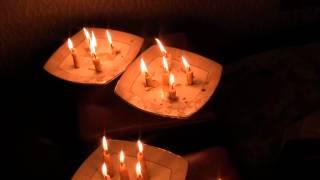 Работа с восковыми свечами