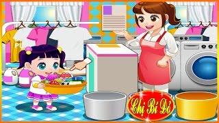 ♥ Trò chơi dọn dẹp ♥ Bé Na giúp Chị Bí Đỏ dọn dẹp đồ chơi và quần áo