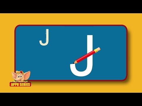 Learn Alphabets - Letter J -DBtUvPA7v6E