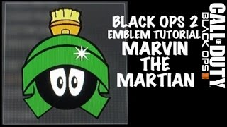 Marvin the Martian emblem tutorial black ops 2
