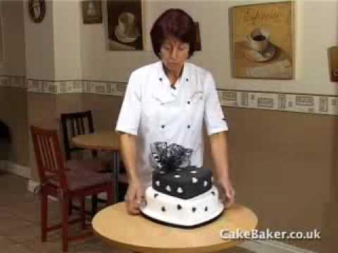 Icing a Wedding Cake