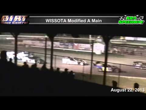 KRA Speedway 8 22 13 WISSOTA Modified Races