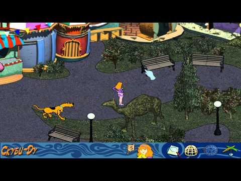 Scooby-Doo! Mystery of the Fun Park Phantom walkthougt Russian!