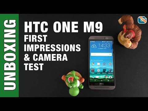 HTC One M9 Unboxing First Impressions & Camera Test #HTCOneM9