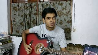 Hridoy khan's Bhebe Bhebe Boli Song Guitar (Cover) by Rimon Chatterjee.