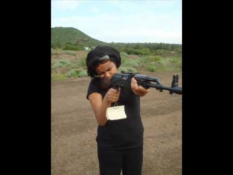 This is the daughter of Meles Zenawi, holding a AK47 rifle. To her it is a toy, but to hundreds of thousands of Ethiopians it is what took their lives away i...