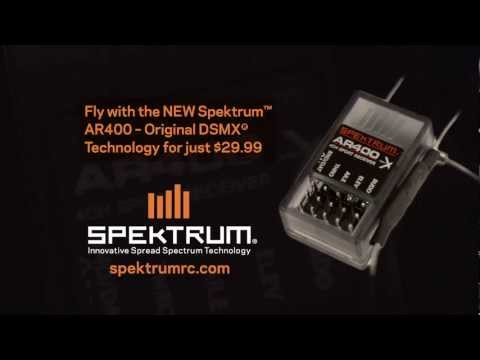 AR400 4-Channel DSMX Aircraft Receiver by Spektrum